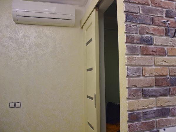 Отделка фасадов дома из арболита