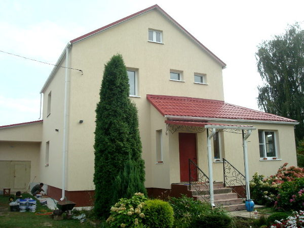 Штукатурка фасадов домов цена за работу