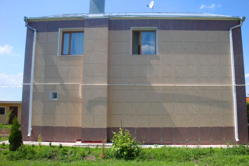 Варианты отделка фасадов загородных домов